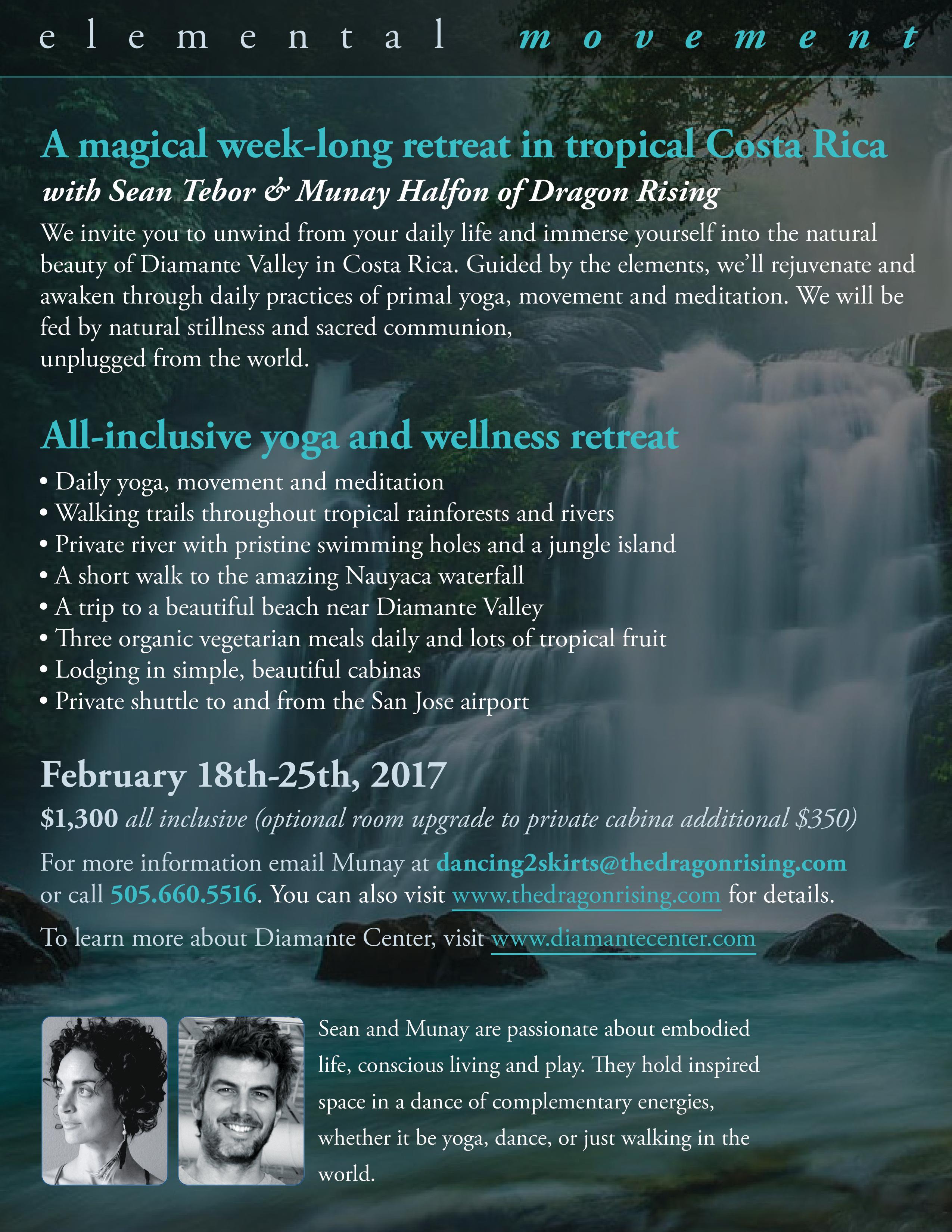 Elemental Movement - FULL - Diamante Center Retreat