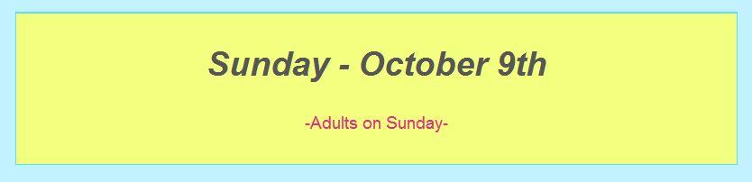 October schedule top screenshot 7 after dance