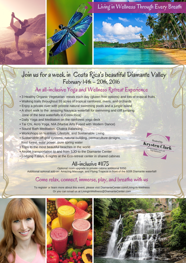 Living in Wellness Feb 14 - 20 - Costa Rica PNG