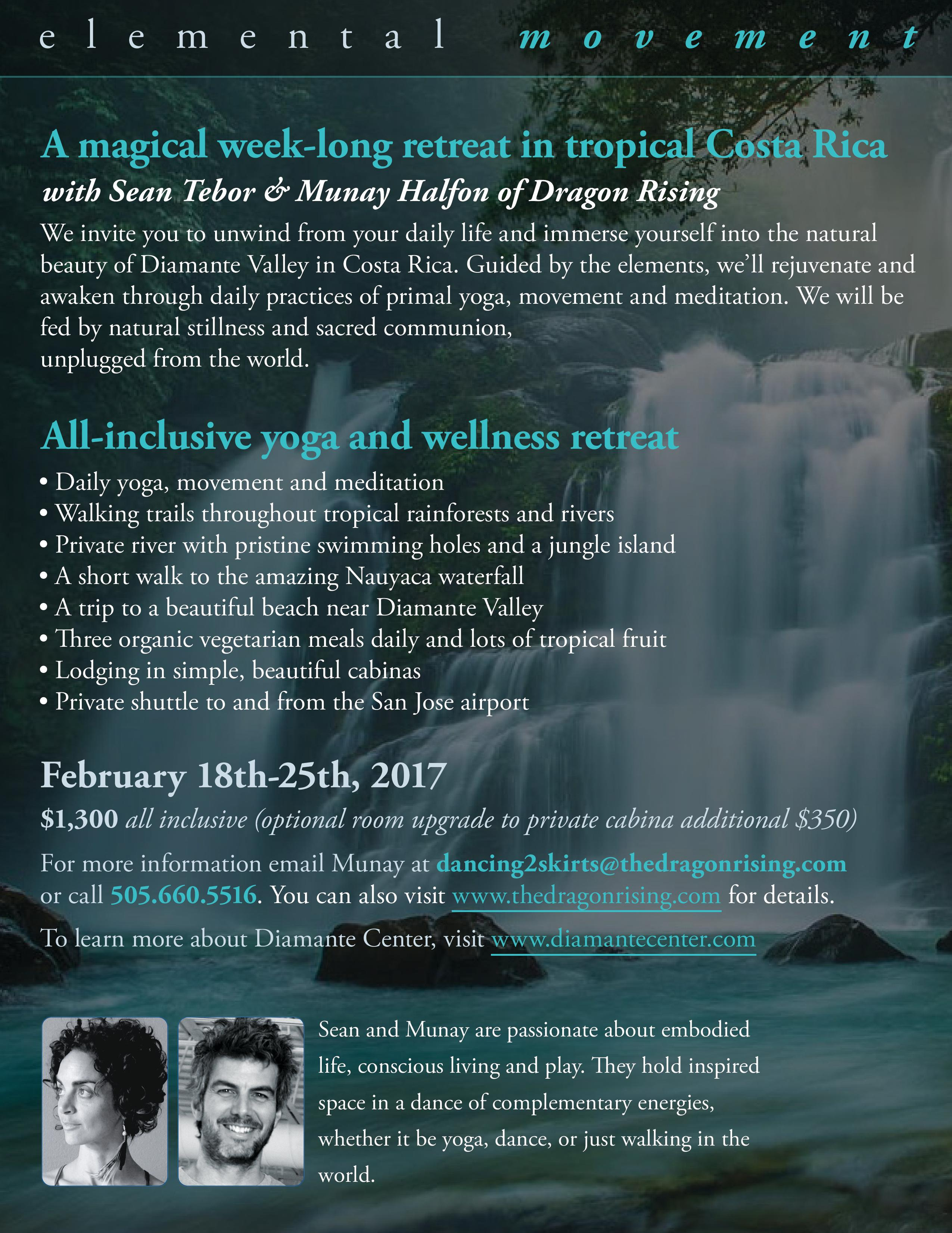 Elemental Movement - FULL - Diamante Center Retreat