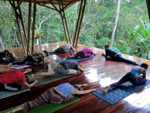 Diamante Center rainforest yoga deck 2